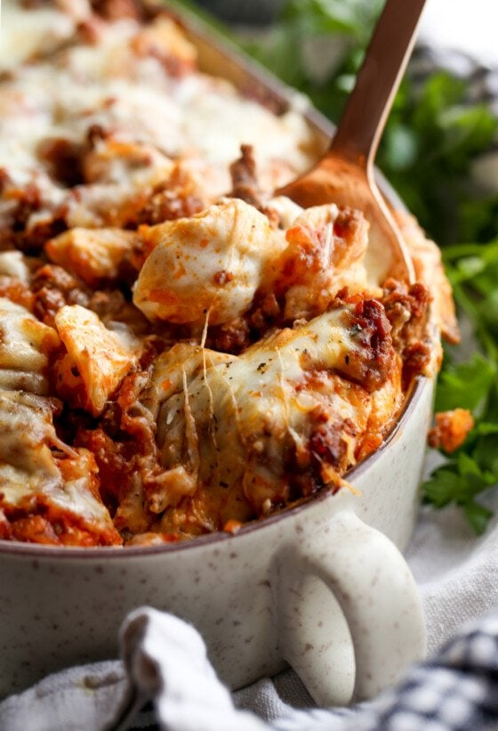 Unstuffed Shells