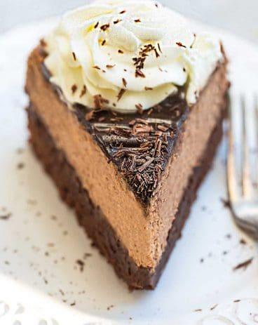 Chocolate Brownie Cheesecake