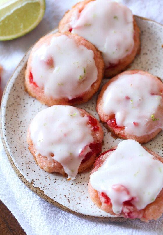 Cherry Limeade Cookies