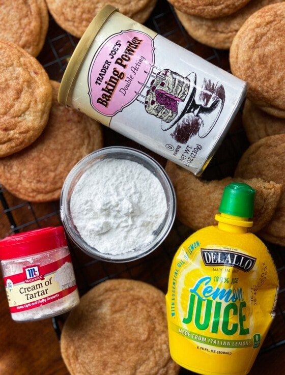 Cream of Tartar Substitutes for Baking