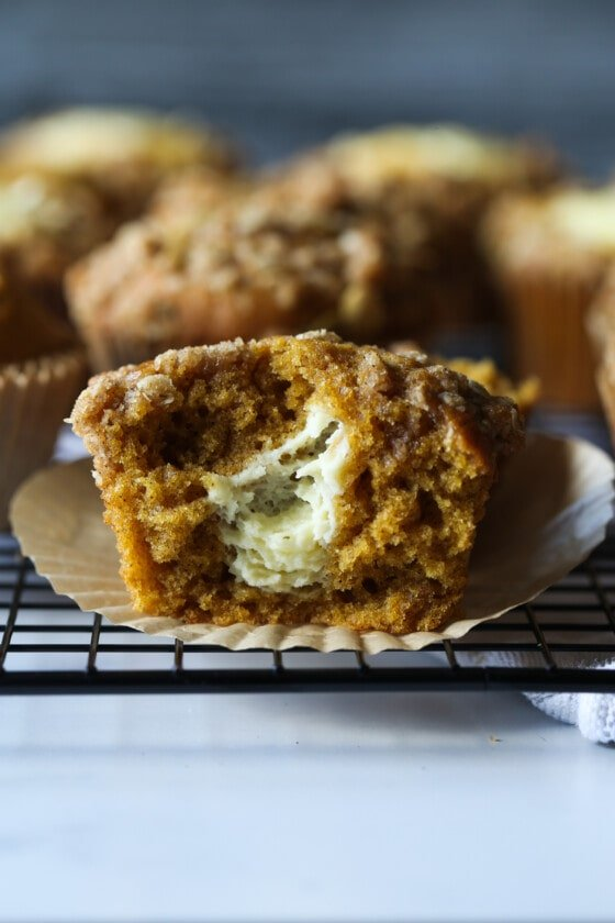 Pumpkin Cream Cheese Muffins (Starbucks Copycat Recipe)